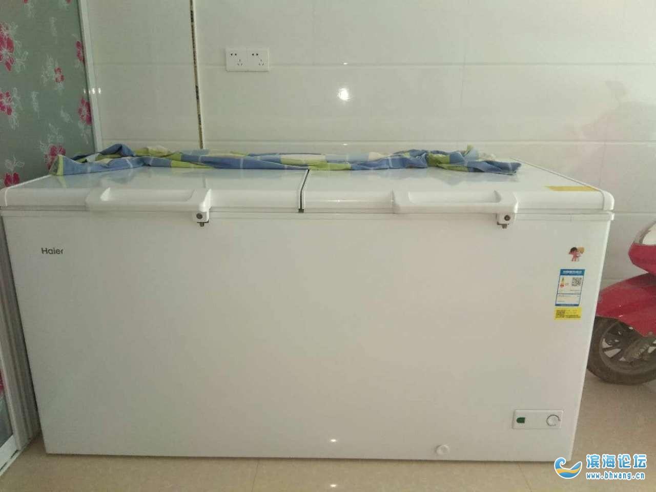 二手海尔冰柜出售