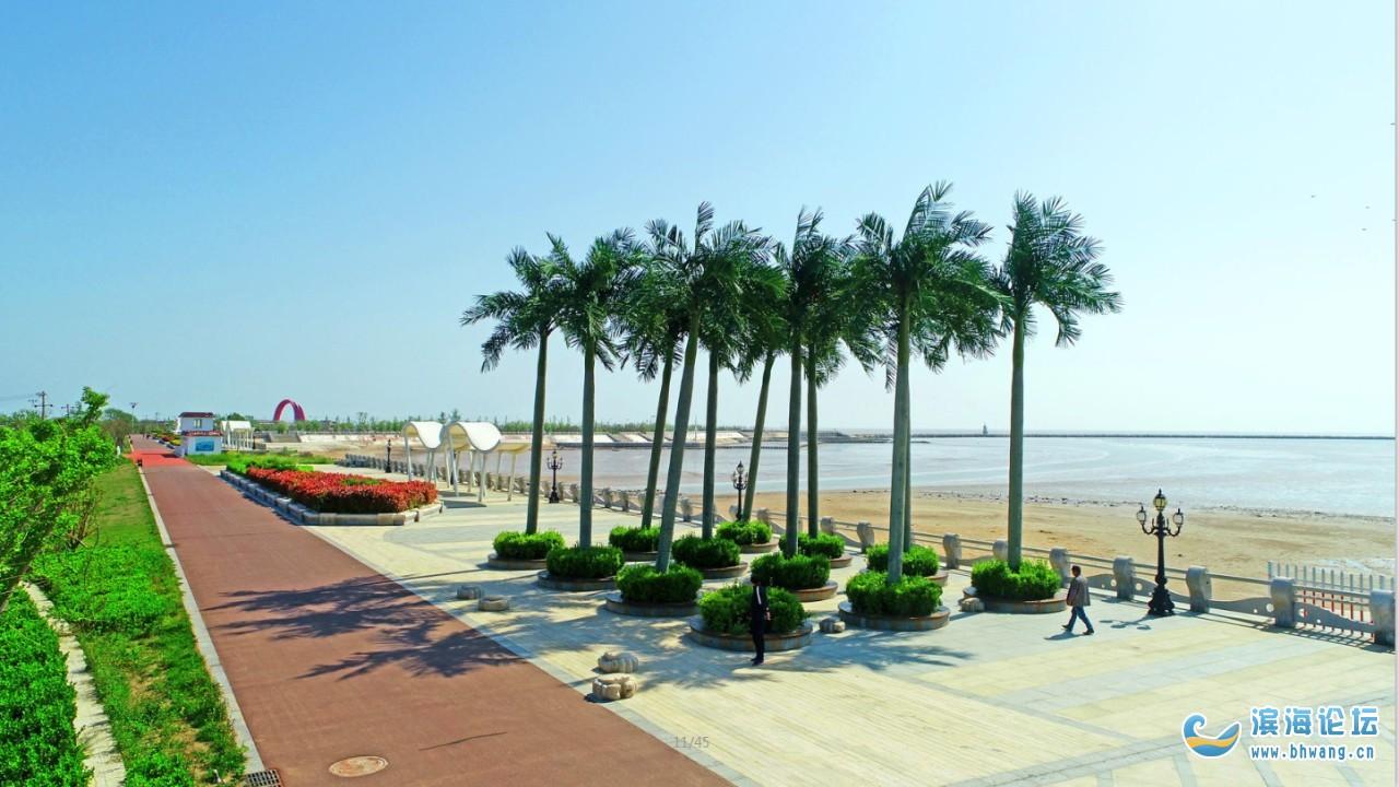 风光旖旎的月亮湾海滨旅游度假区