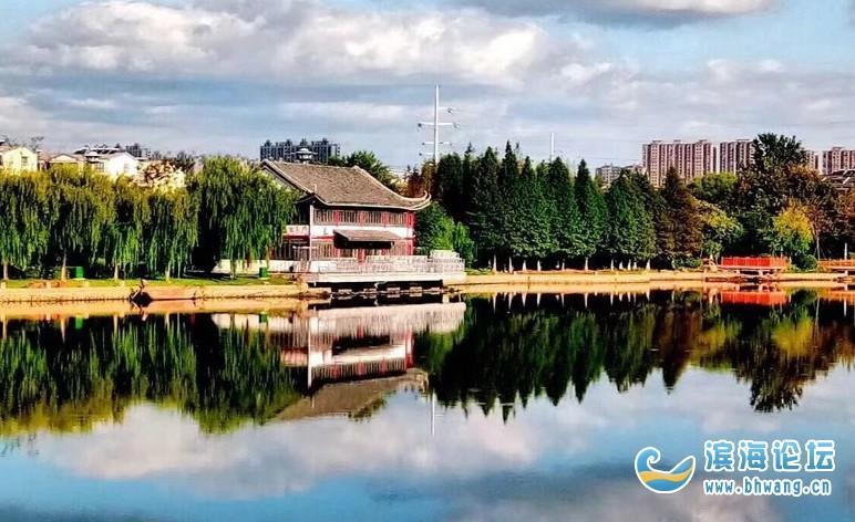 滨海南湖风景区