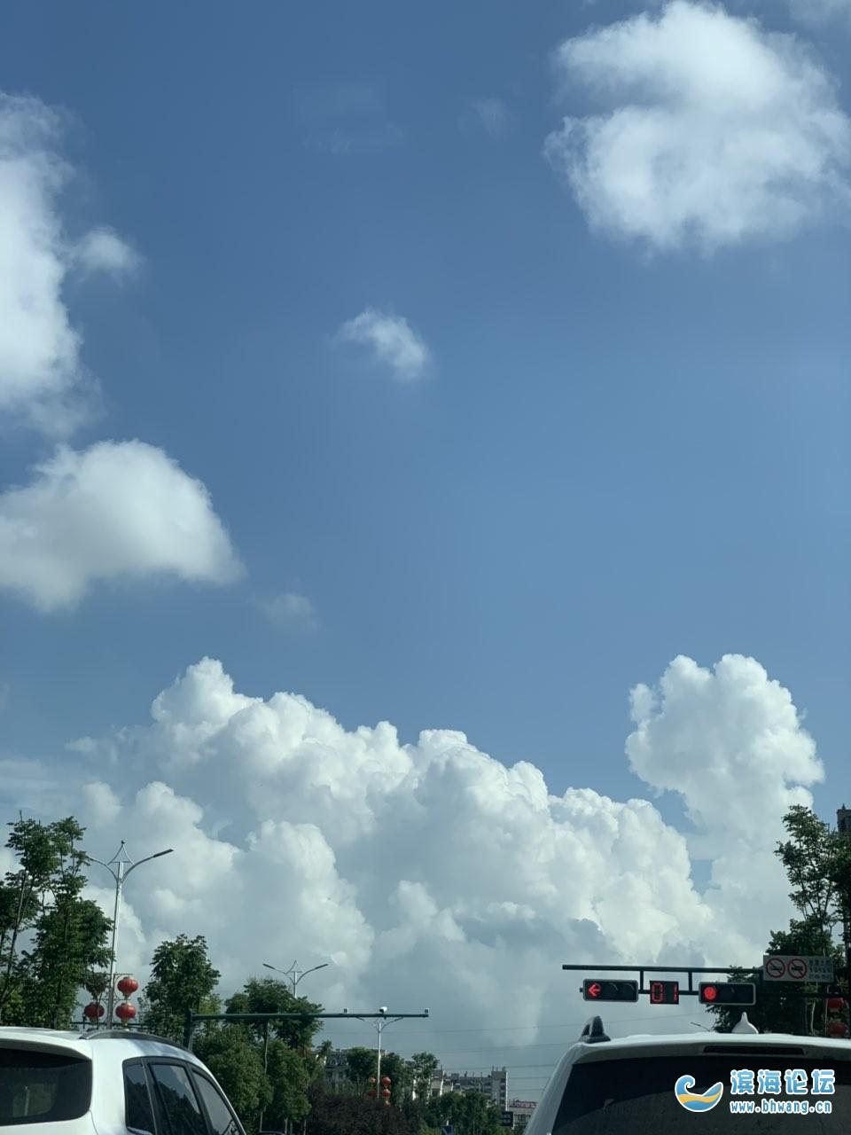 今天的這天氣不丑啊