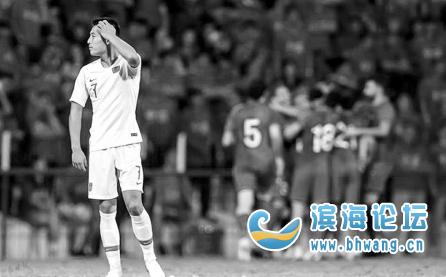 中國足球隊10年沒贏過敘利亞隊一場!這樣的發揮很穩定……