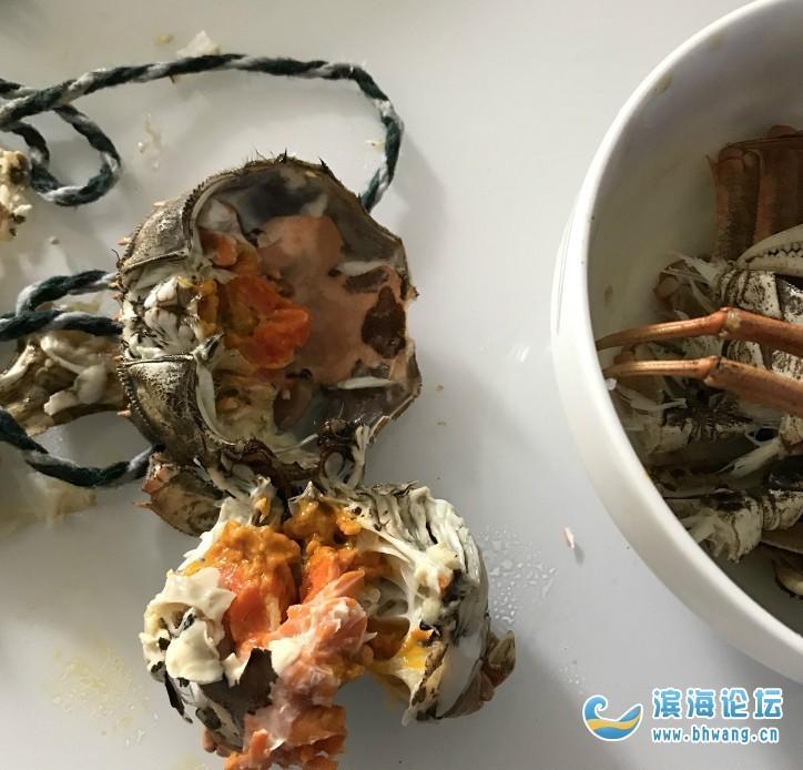 太饞的下場,中午螃蟹吃多了,現在胃好疼還想吐