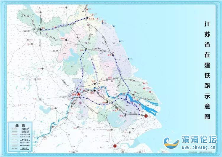 速看!江蘇鐵路建設最新進展曝光,2020年還有4條要通車
