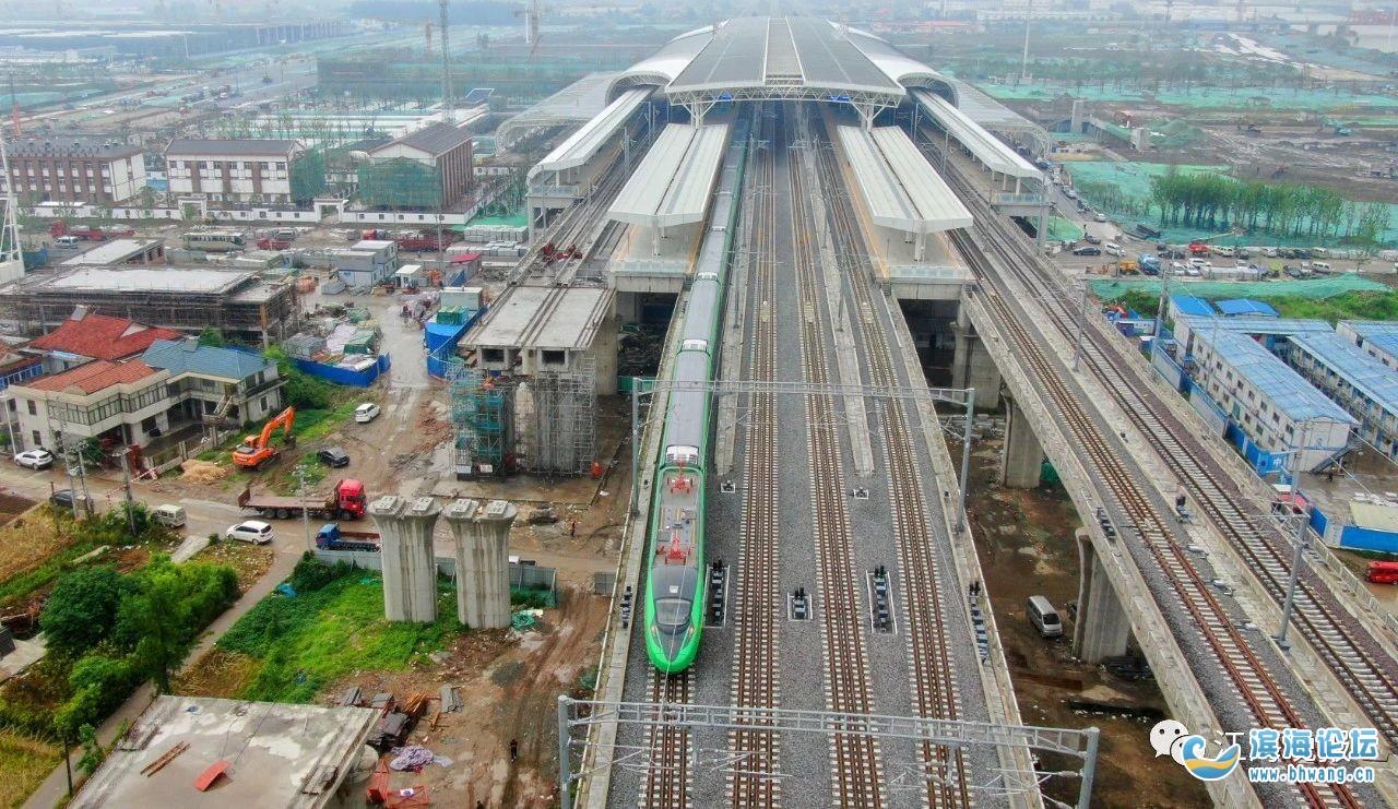 盐通铁路即将铺长轨!24小时作业,预计7月底完成全线铺设!