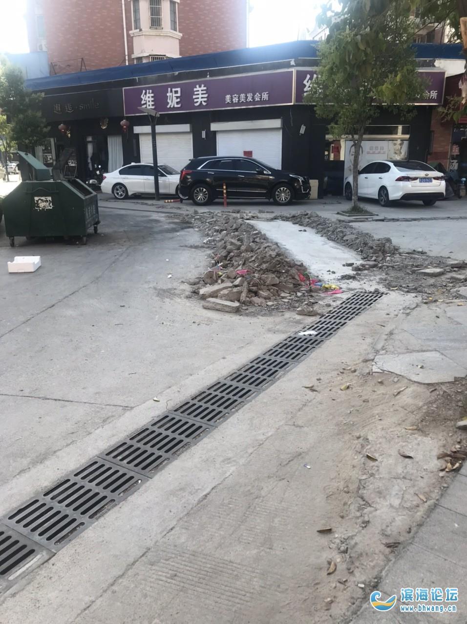 新时代下水道工程,半年都修不好,道路三天二天封路