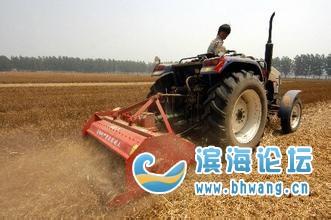 致农民朋友的一封信:秸秆机械化还田作业补助政策