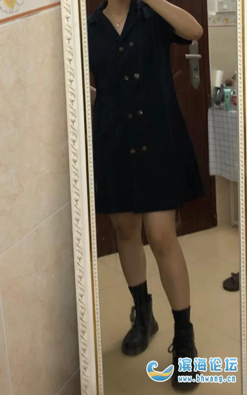 男朋友说这裙子穿上瞬间老了十岁!第一次尝试这风格,要不要退货?