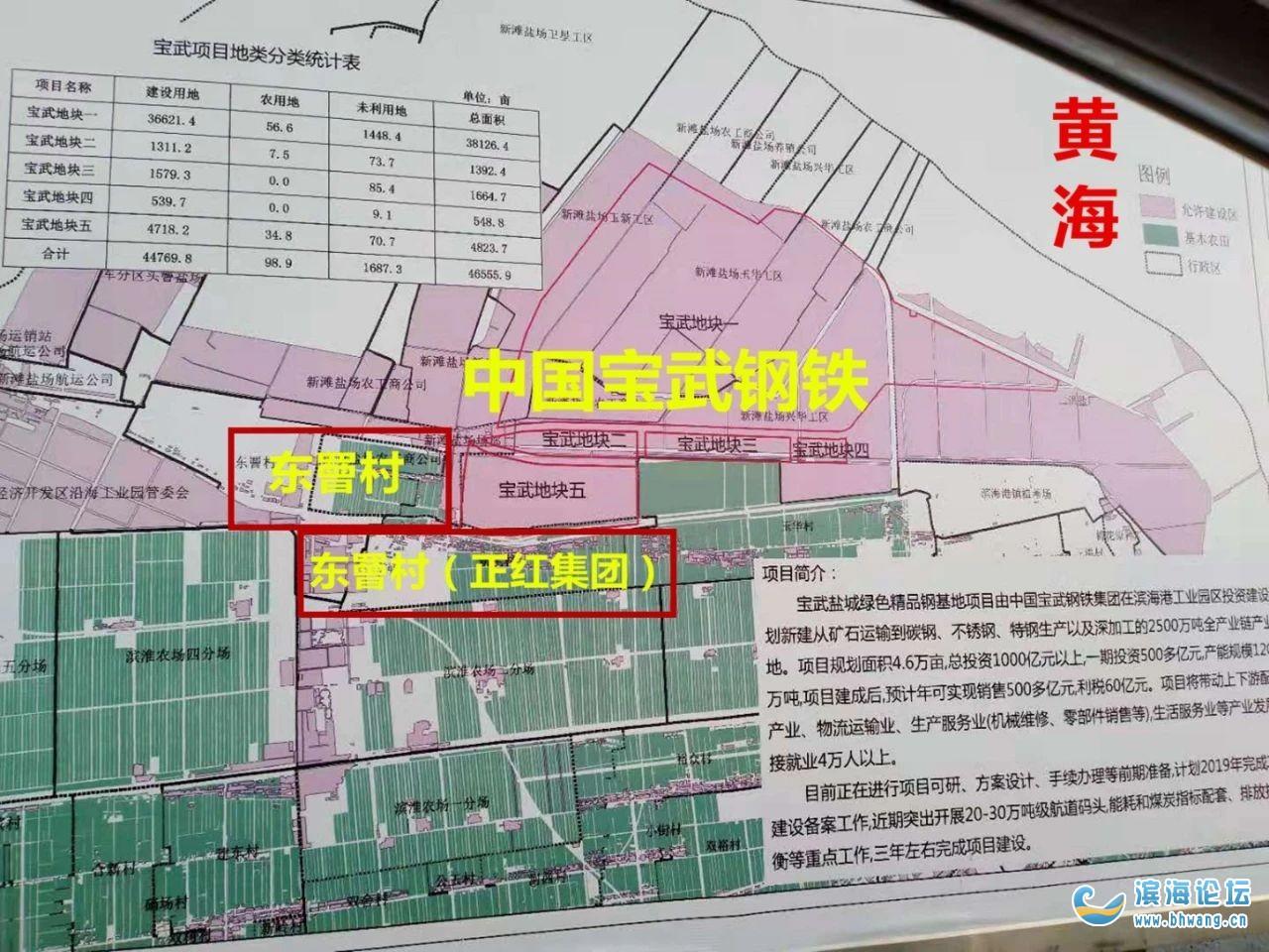 投資超1000億!寶鋼在濱海的規劃圖來了!