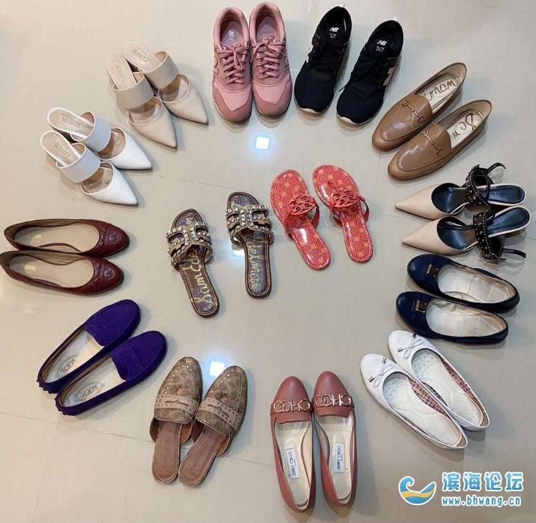 今天早上老公开玩笑说我是蜈蚣精,一个人穿这么多鞋,我的鞋子不算多吧??