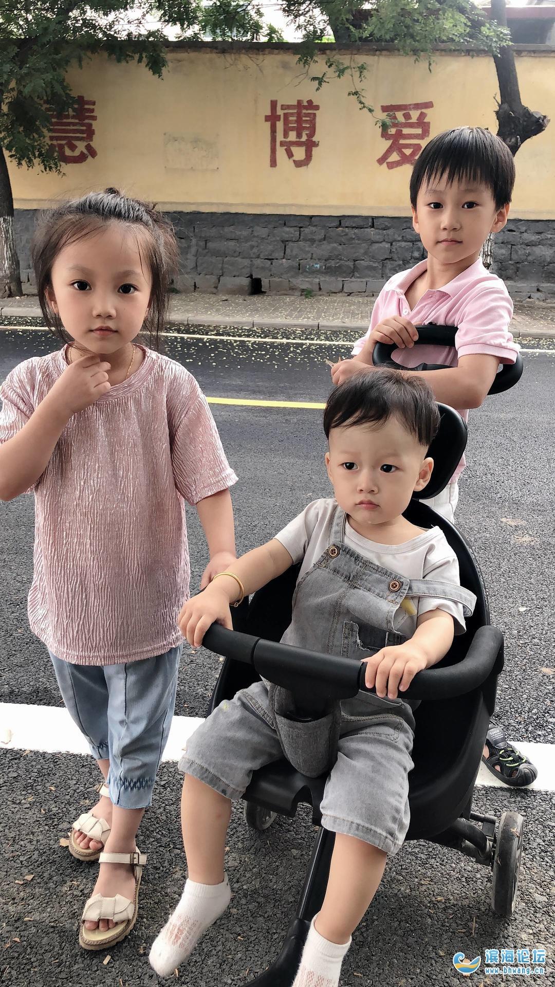 我的三个大宝贝,小家伙太难配合了!