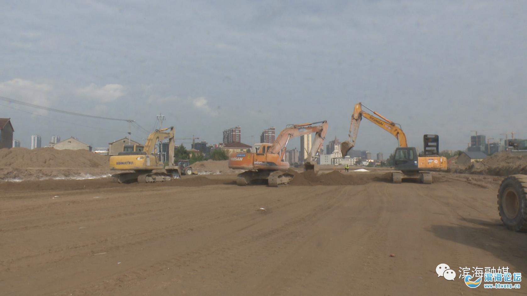 大提速!滨海交通重点工程建设快马加鞭……
