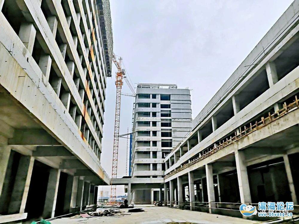 重点关注!滨海县医院整体迁建工程进展如何?内部图片曝光……
