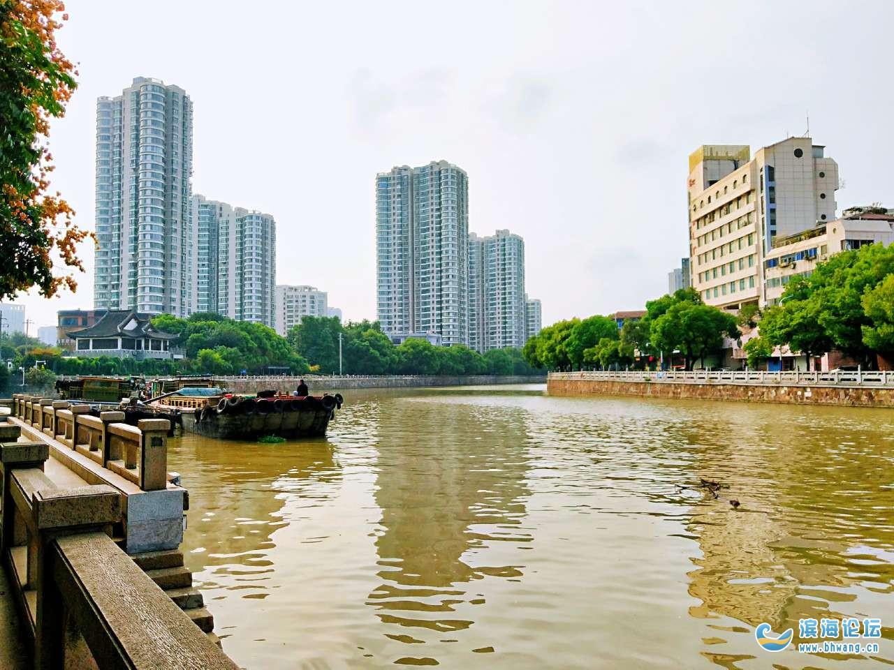 運河風光 ——江蘇常州城區段