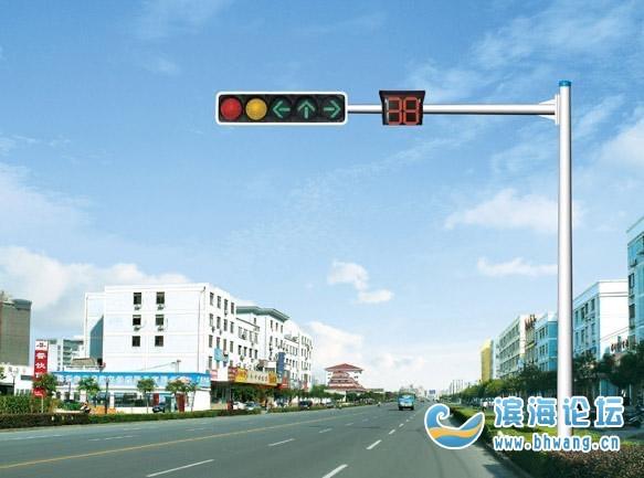 204国道路口红绿灯设计有缺陷,请相关部门及时调整