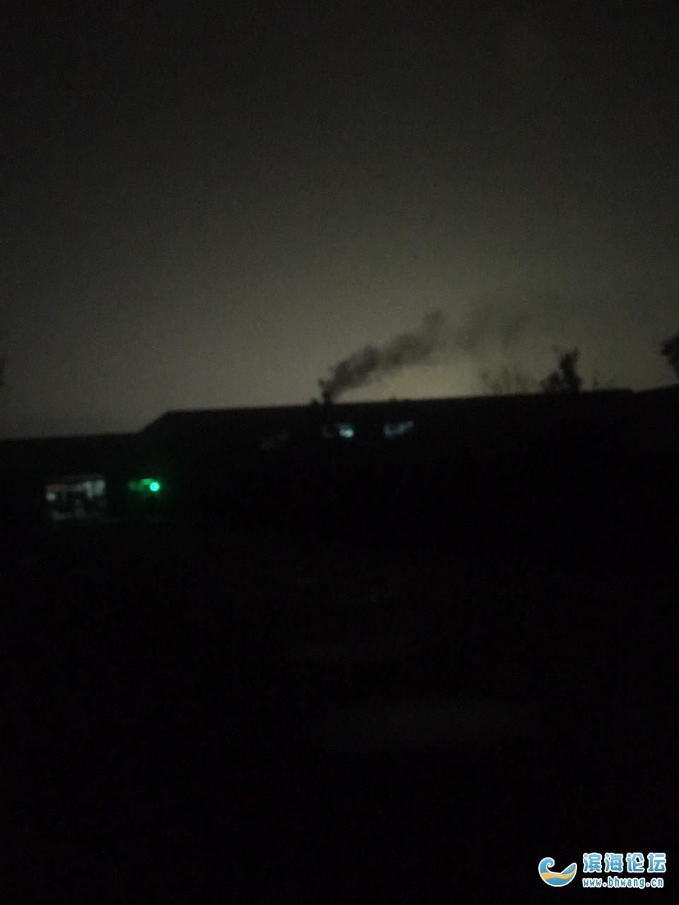 滨海环保局看看,要对我们百姓负责,每晚都在祸害空气污染