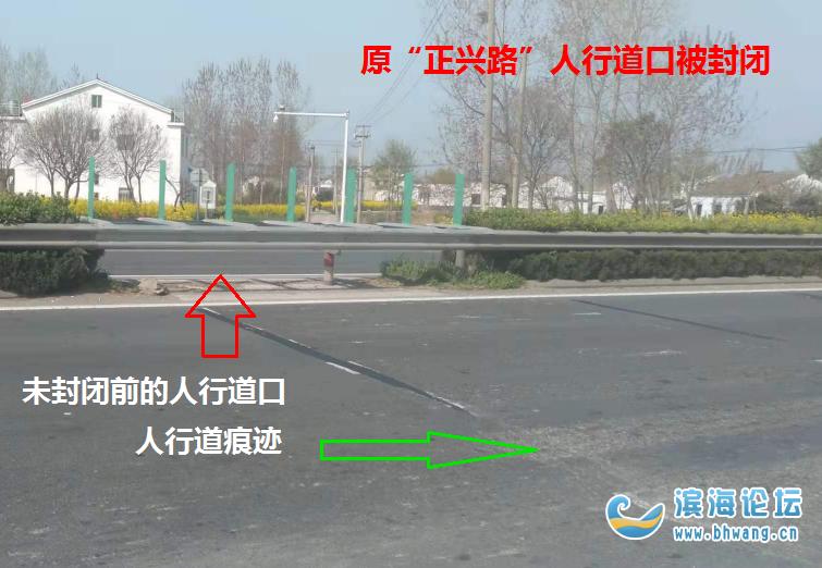 """滨海港区小街村境内""""国道全封闭区开放人行道出口""""论坛"""